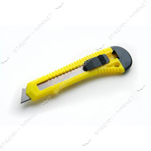 Нож выдвижной СИЛА 400201 18мм усиленный