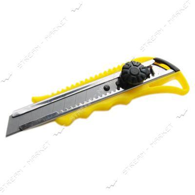 Нож выдвижной СИЛА 400208 18мм винтовой замок