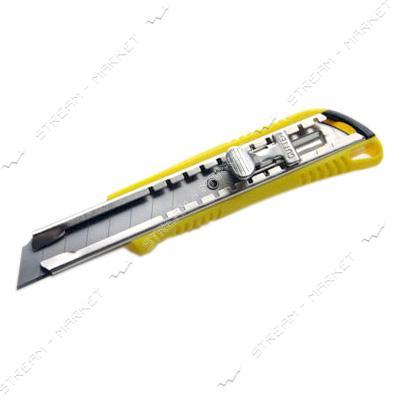 Нож выдвижной СИЛА 400210 18мм метал.замок Shiftlock