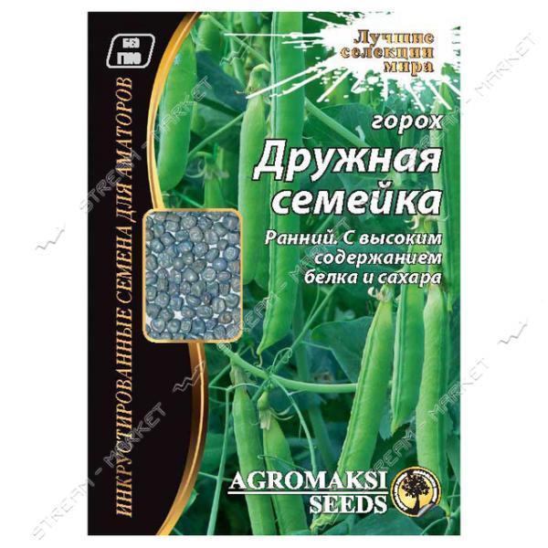 Семена Горох овощной АГРОМАКСИ Дружная семейка 30г