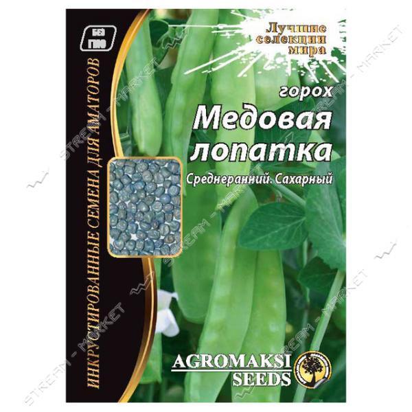 Семена Горох овощной АГРОМАКСИ Медовая лопатка 30г