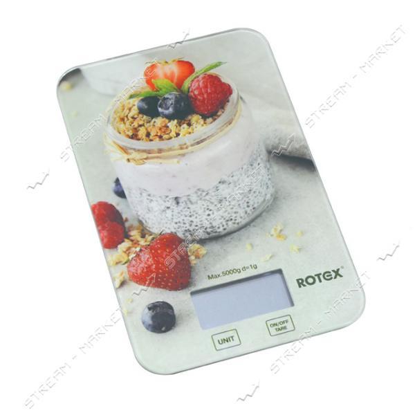 Весы кухонные Rotex RSK14-P Yogurt 5кг