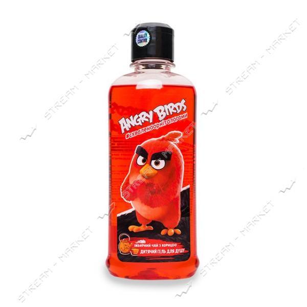 Angry Birds Гель для душа детский Имбирный чай с корицей 250мл