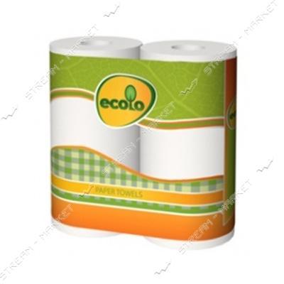 Ecolo Полотенца кухонные 2рул