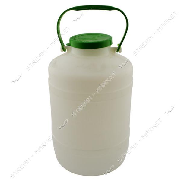 Бидончик пластиковый для пищевых продуктов 5л Горизонт