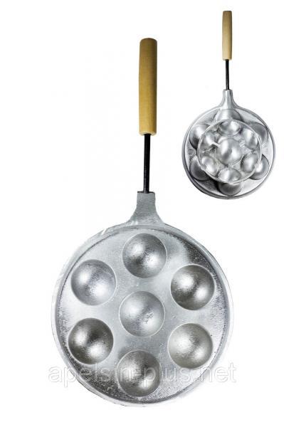 """Форма для выпечки """"Сырные шарики"""" на  7 ячеек"""