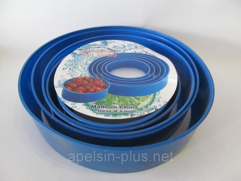 Сита пластиковые для муки набор из 5 штук