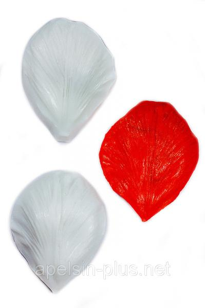 """Вайнер силиконовый """"Лепесток Розы"""" 5,1 см 4,7 см"""