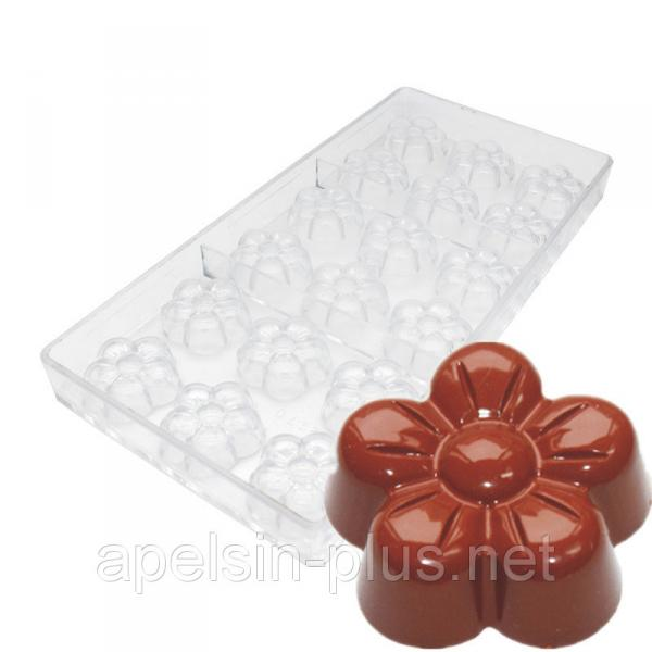 Фото  Поликарбонатная форма для шоколада