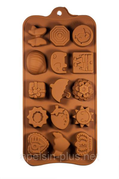 Фото Формы для шоколада и льда, Силиконовые формы для выпечки Силиконовая форма для конфет