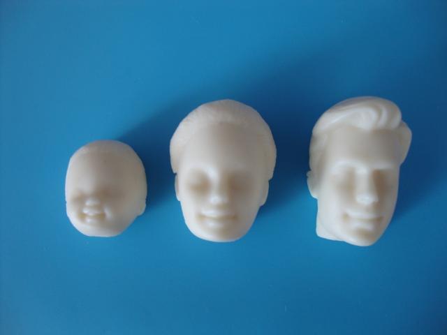 Фото Молды кондитерские пластиковые и силиконовые, Молды людей Молд силиконовый