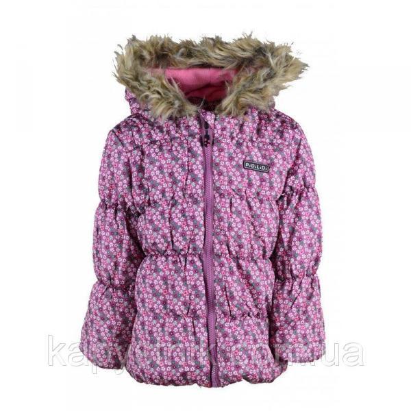 Курточка демисезонная PUFFY дутая для девочки р.92-128 ТМ PIDILIDI (Чехия)