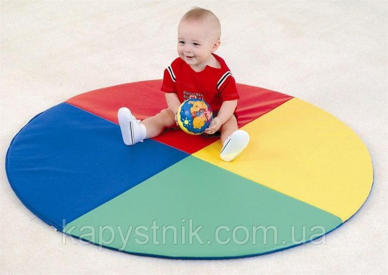 Детский мат-коврик для развития Солнышко ТМ Тia-sport Тиа-Спорт: sm-0021 Blue (Украина)