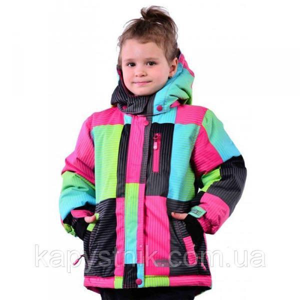 """Зимняя термокуртка """"Blizz"""" Ski Tour для девочки р.98-158 ТМ Pidilidi-Bugga (Чехия)"""