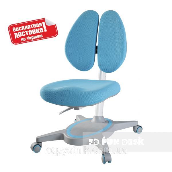 Компьютерное ортопедическое кресло ТМ FunDesk Primavera II Blue