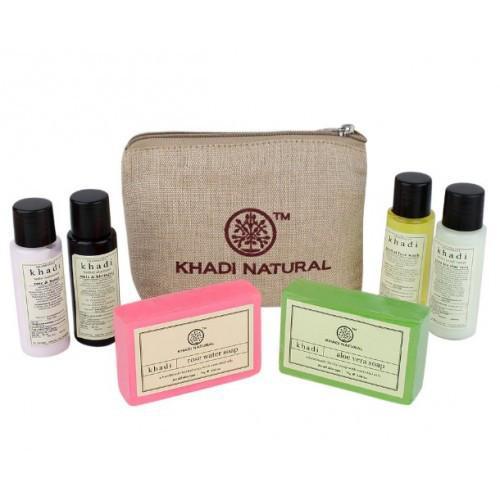 Дорожный набор косметики Khadi Travel  Kit