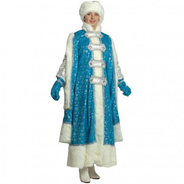 Карнавальный костюм Снегурочка Боярыня взрослый
