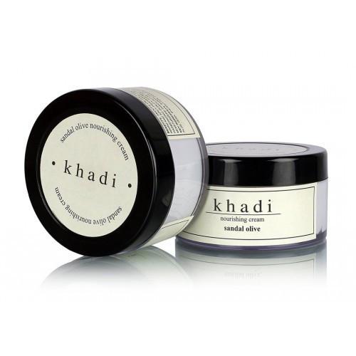 Питательный крем для лица Khadi с сандалом и оливой 50г.