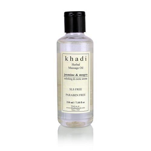 Гель для душа Khadi c экстрактом жасмина и могры (без лаурилсульфата натрия) 210мл
