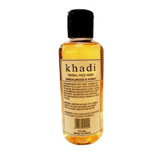 Гель для умывания лица увлажняющий Khadi