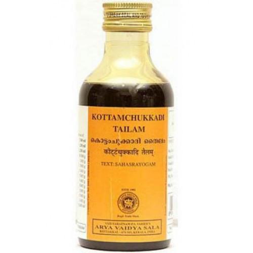 Массажное масло Коттамчуккади Тайлам (Kottamchukkadi Tailam) 200мл