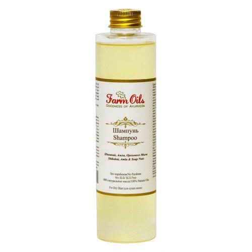 Шампунь для нормальных волос Farm Oils Shikakai + Амла + Soapnut 250
