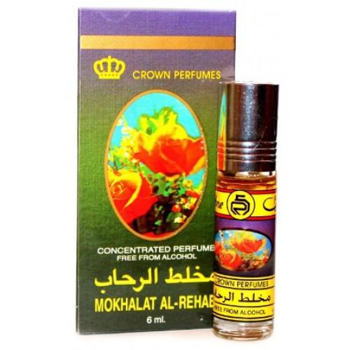 Унисекс масляные духи AL REHAB Mokhalat Al Rehab с роллером 6 мл