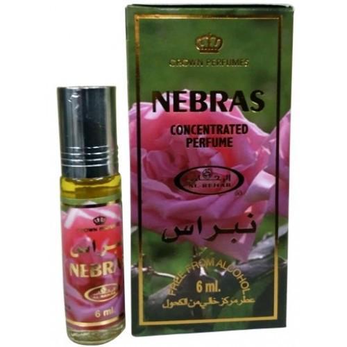 Унисекс масляные духи AL REHAB NEBRAS с роллером 6 мл