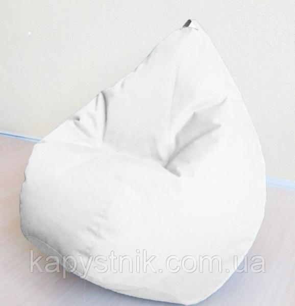 Кресло груша Оксфорд Белый  ТМ Тia-sport Тиа-Спорт: sm-0039 (Украина)