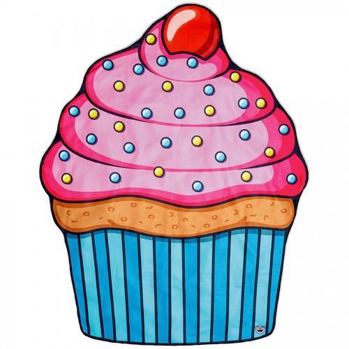Пляжное покрывало пирожное Sweetness Cupcake