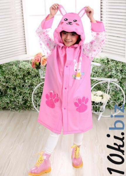 Детский дизайнерский дождевик Little Sweet Розовый XXL купить в Лиде - Дождевики, ветровки для девочек