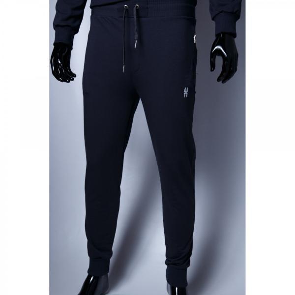 Спортивные штаны мужские трикотаж манжет Barbarian 379967_4 графит