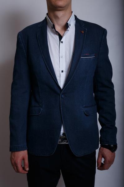 Пиджак мужской джинсовый Captain S.AL 6202 синий