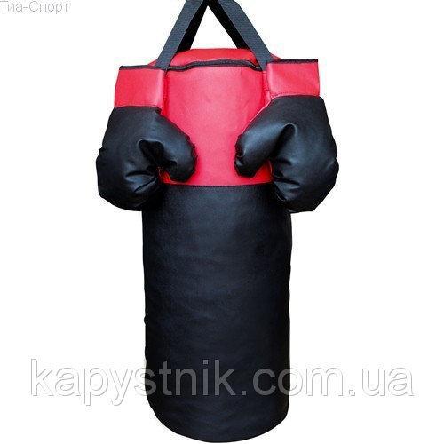 Детский боксерский мешок L ТМ Тia-sport Тиа-Спорт: sm-0260 (Украина)