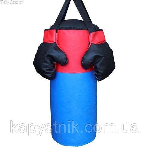 Детский боксерский мешок M ТМ Тia-sport Тиа-Спорт: sm-0259 (Украина)