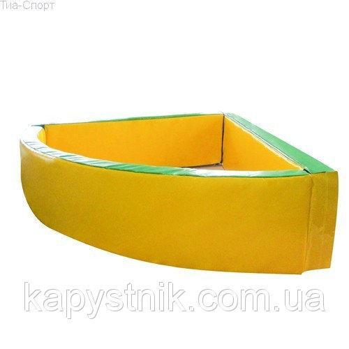 Сухой бассейн угловой 130-130-40 см ТМ Тia-sport Тиа-Спорт: sm-0252 (Украина)