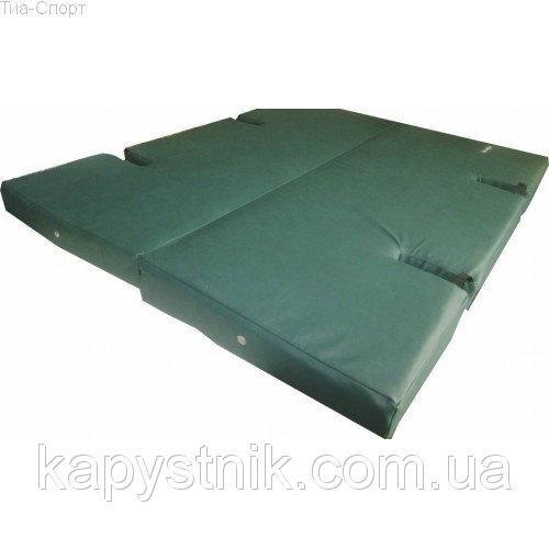 Мат складной с вырезом 120-120-8 см ТМ Тia-sport Тиа-Спорт: sm-0144 (Украина)