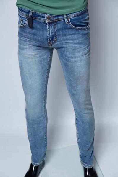 Джинсы мужские Calvin Klein 7016 грязно-синие реплика