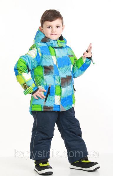 Зимний термокомбинезон на мальчика, лыжный р.98-128 ТМ Pidilidi-Bugga (Чехия)