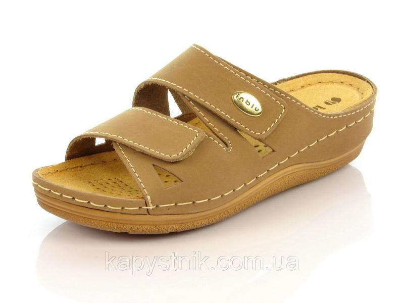 Женская ортопедическая обувь шлепанцы, тапочки р.36-38 Inblu: LF-1F/026