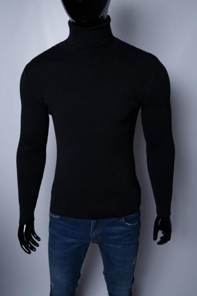 Гольф водолазка мужской теплый FR 152902484_1 черный