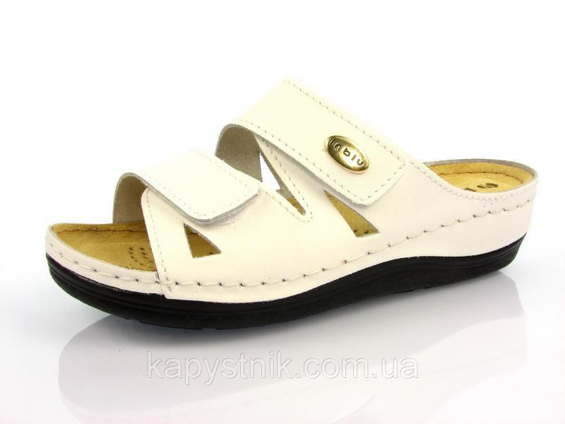 Ортопедическая женская обувь р.36-38 Inblu шлепанцы:LF-2/001