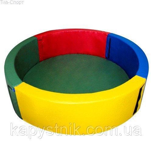Сухой бассейн круглый 150*40 см ТМ Тia-sport Тиа-Спорт: sm-0199 (Украина)