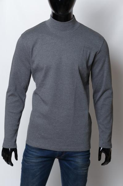 Гольф водолазка мужской теплый Twin Line 15291 серый