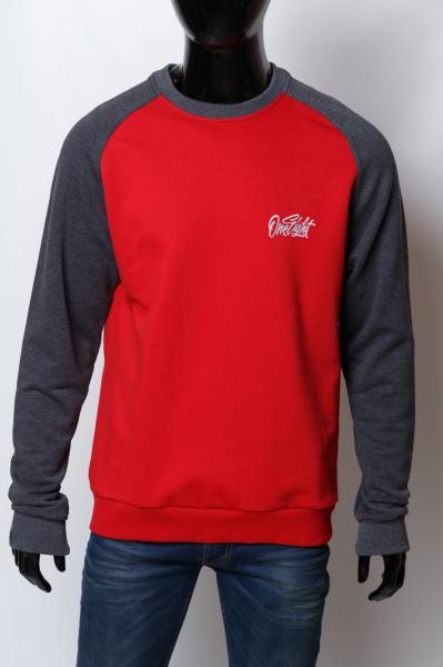 Кофта свитшот трикотажная мужская Urban P 6311 красная