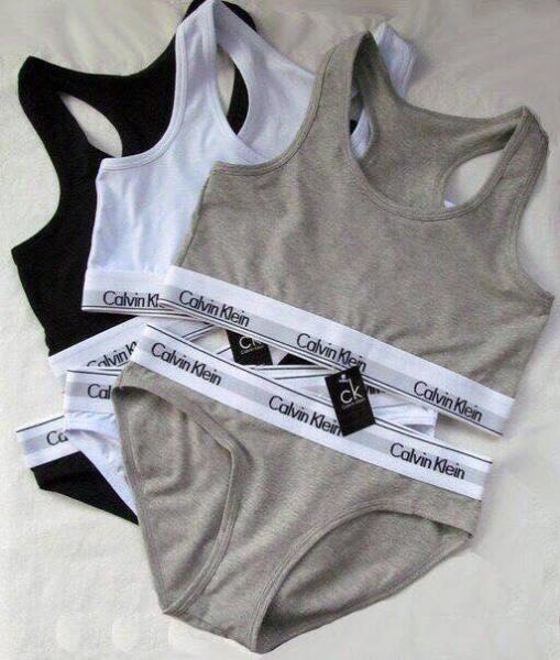 Calvin Klein комплект топ+слипы