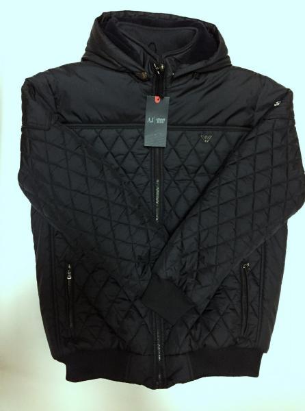 Куртка мужская батал Armn 120102324_b зимняя под резинку реплика