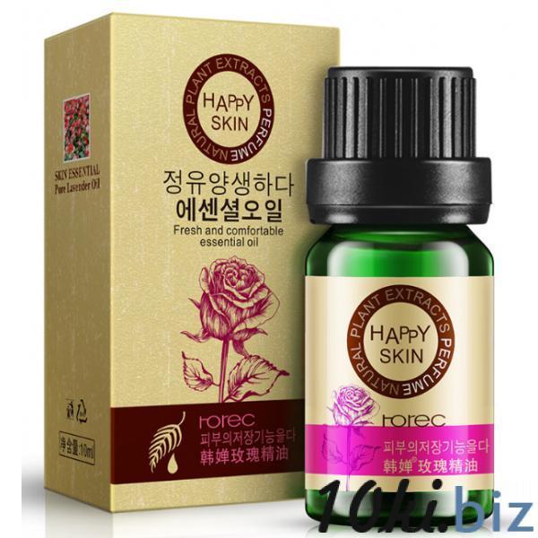 Розовое эфирное масло Rorec для ухода за кожей. 10 мл Эфирные масла в Украине