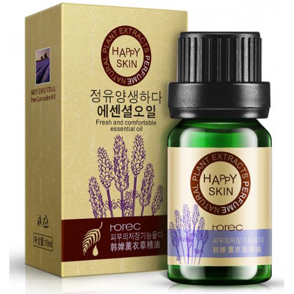 Лавандовое эфирное масло Rorec для ухода за кожей