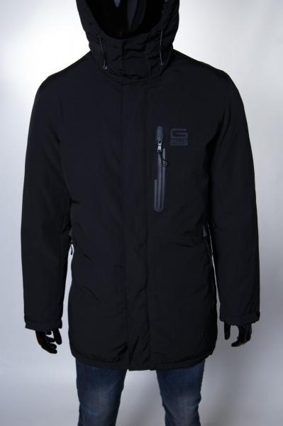 Куртка мужская зимняя GS 154024_1 черная 2XL